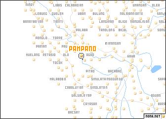 map of Pampano