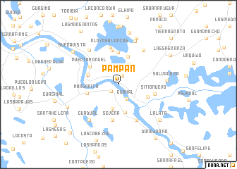 map of Pampán