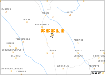 map of Pampa Pujio