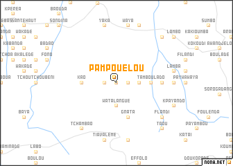 map of Pampouelou