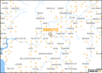 map of Pamutic
