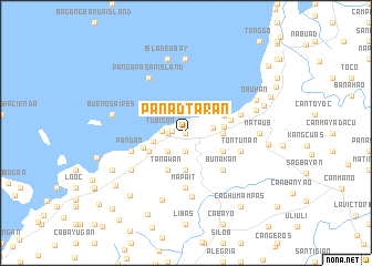 map of Panadtaran