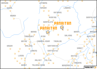 map of Panaitan