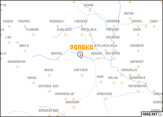 map of Panaka