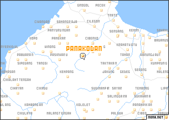 map of Panakodan