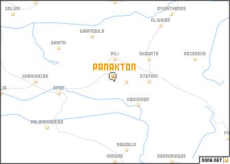 map of Pánakton