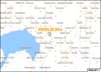 map of Panalachaj