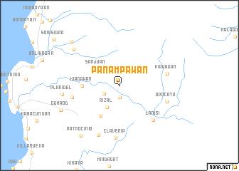 map of Panampawan