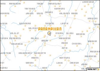 map of Panampikan