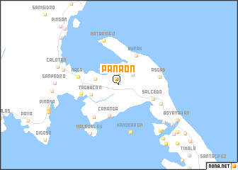 map of Panaon