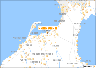 map of Panapaan