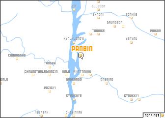 map of Panbin
