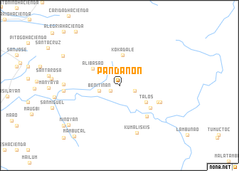 map of Pandanon