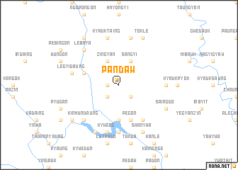 map of Pandaw