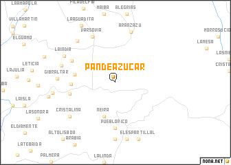 map of Pan de Azúcar