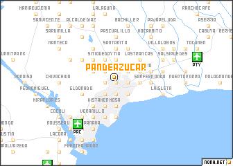 map of Pan de Azúcar