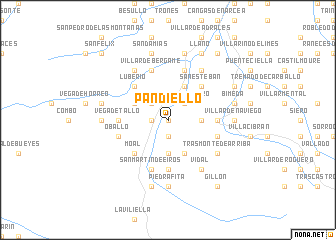 map of Pandiello