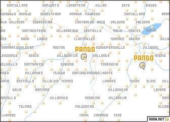 map of Pando
