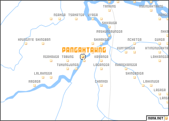 map of Pān Gahtawng