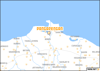map of Pangarengan