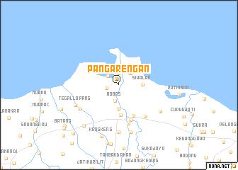 map of Pangarengan