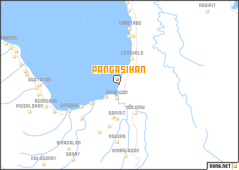 map of Pangasihan