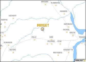 map of Panget