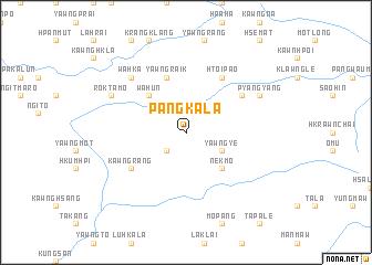 map of Pāngkala