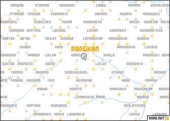 map of Pangkan