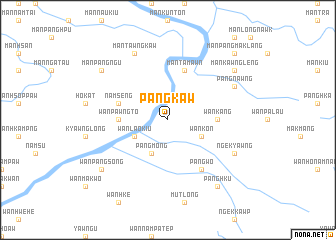 map of Pāngkaw