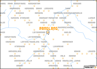 map of Pānglang