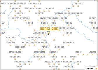 map of Pānglang