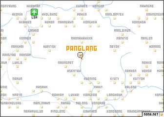 map of Pāng-lang