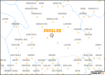 map of Panglao