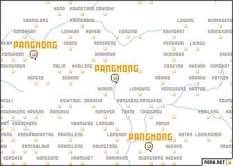 map of Pāng-mong