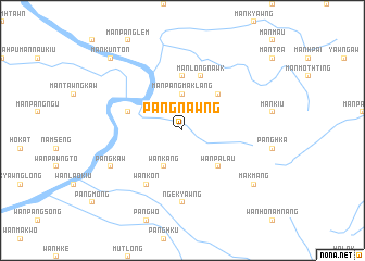 map of Pāngnawng