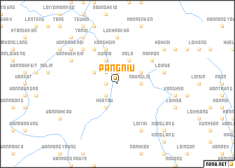 map of Pangniu