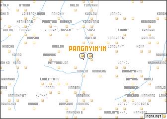 map of Pang Nyim