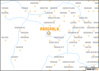 map of Pāngpala
