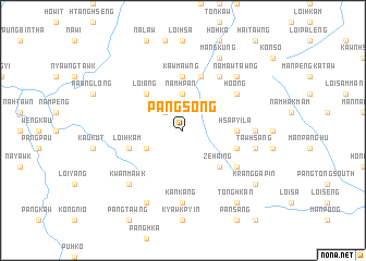 map of Pángsong