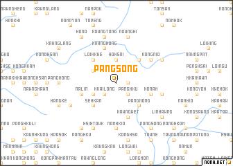 map of Pāngsōng