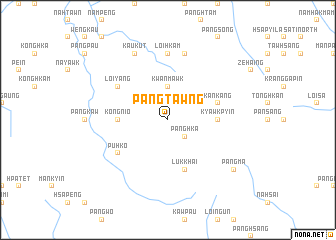 map of Pangtawng