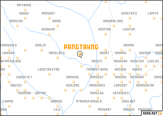 map of Pāngtawng
