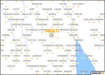 map of Pangti