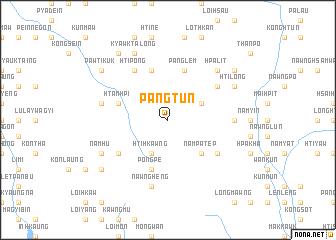 map of Pangtun