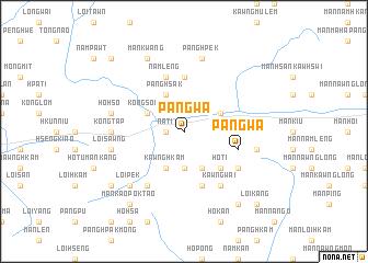 map of Pangwa