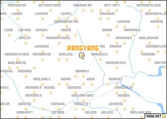 map of Pang-yang