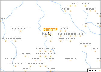 map of Pangye