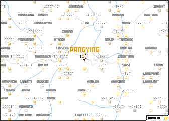 map of Pangying