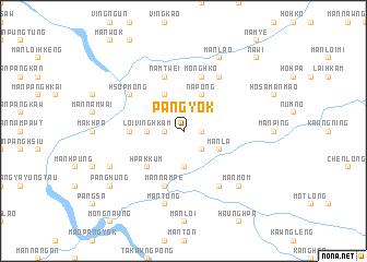 map of Pang-yok